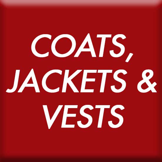 Coats, Jackets and Vests