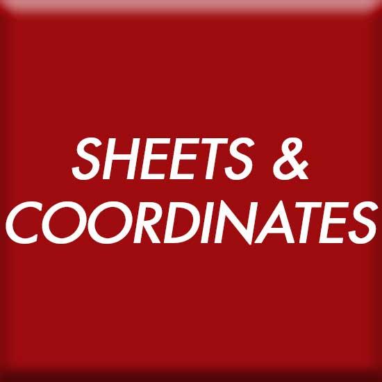 Sheets and Coordinates